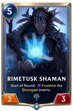Rimetusk Shaman Legends of Runeterra