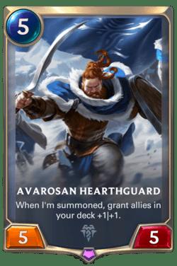 Avarosan Hearthguard Legends of Runeterra