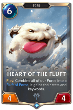 Heart of the Fluft Legends of Runeterra