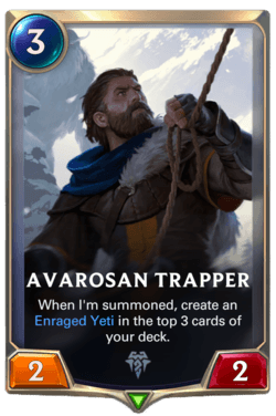 Avarosan Trapper Legends of Runeterra