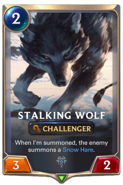 Stalking Wolf Legends of Runeterra