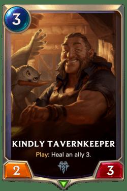 Kindly Tavernkeeper Legends of Runeterra