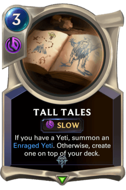Tall Tales Legends of Runeterra
