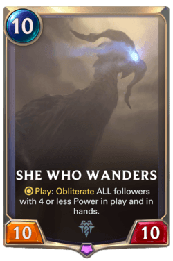 She Who Wanders Legends of Runeterra