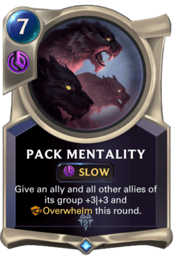 Pack Mentality Legends of Runeterra