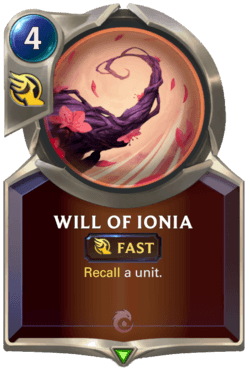 Will of Ionia Legends of Runeterra