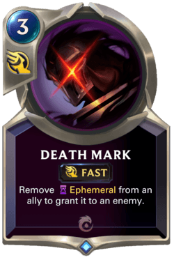 Death Mark Legends of Runeterra