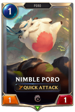 Nimble Poro Legends of Runeterra