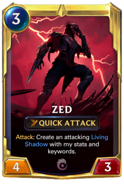 Zed 2 Legends of Runeterra