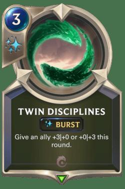 Twin Disciplines Legends of Runeterra