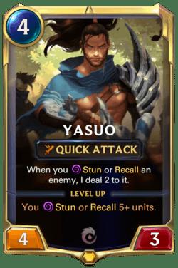 Yasuo Legends of Runeterra