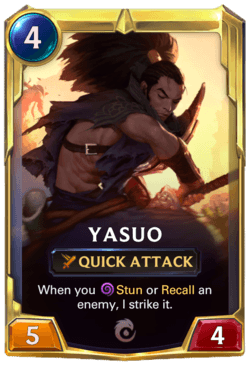 Yasuo 2 Legends of Runeterra