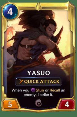 Yasuo 2 Legends of Runeterra