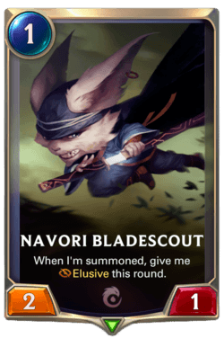 Navori Bladescout Legends of Runeterra