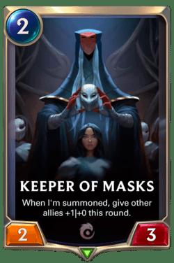Keeper of Masks Legends of Runeterra