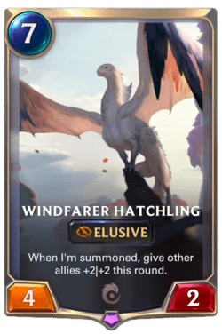 Windfarer Hatchling Legends of Runeterra