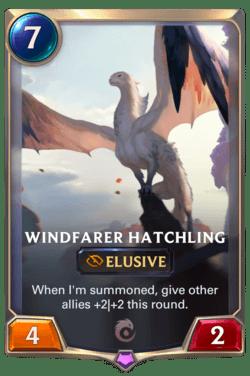 Windfarer Hatchling Legends of Runeterra