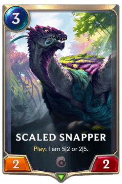 Scaled Snapper Legends of Runeterra