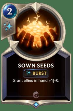 Sown Seeds Legends of Runeterra