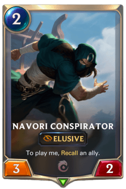 Navori Conspirator Legends of Runeterra