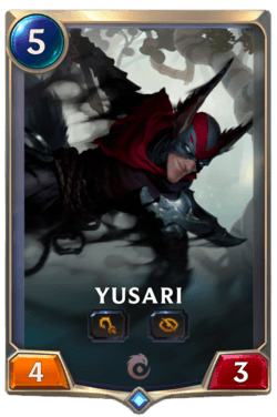 Yusari Legends of Runeterra