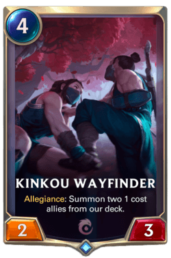 Kinkou Wayfinder Legends of Runeterra