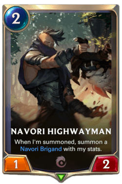 Navori Highwayman Legends of Runeterra