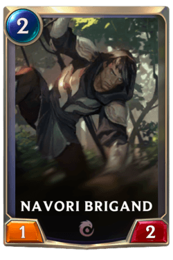 Navori Brigand Legends of Runeterra