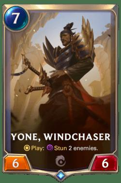 Yone, Windchaser Legends of Runeterra