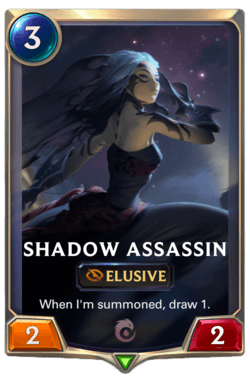 Shadow Assassin Legends of Runeterra