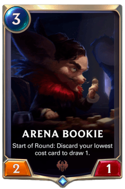 Arena Bookie Legends of Runeterra