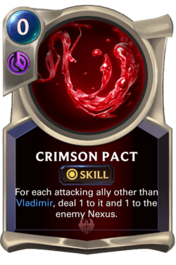 Crimson Pact Legends of Runeterra