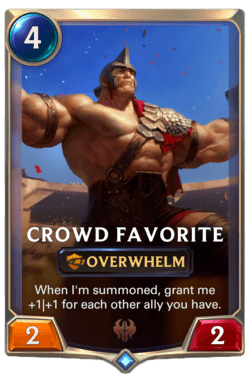 Crowd Favorite Legends of Runeterra