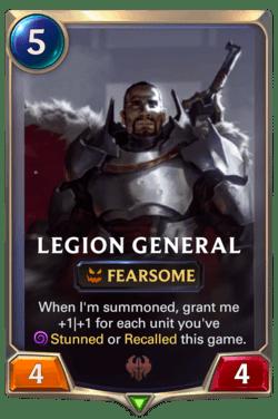 Legion General Legends of Runeterra