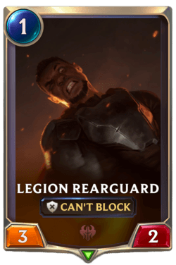 Legion Rearguard Legends of Runeterra
