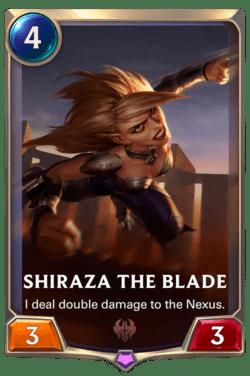 Shiraza the Blade Legends of Runeterra