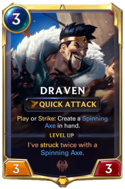 Draven Legends of Runeterra