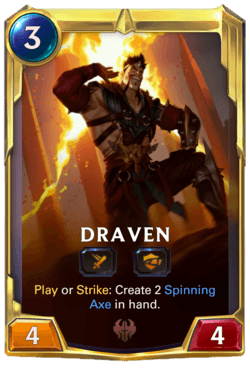 Draven 2 Legends of Runeterra