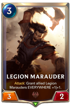 Legion Marauder Legends of Runeterra