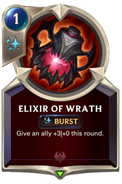 Elixir of Wrath Legends of Runeterra
