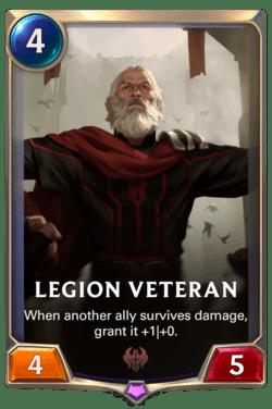 Legion Veteran Legends of Runeterra