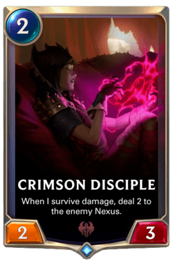 Crimson Disciple Legends of Runeterra