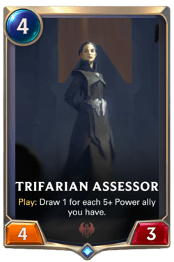 Trifarian Assessor Legends of Runeterra