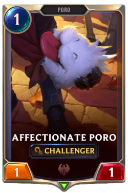 Affectionate Poro Legends of Runeterra