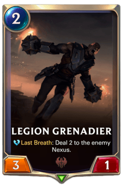 Legion Grenadier Legends of Runeterra