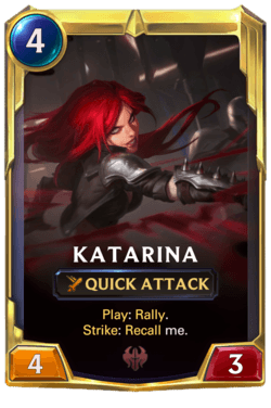 Katarina 2 Legends of Runeterra