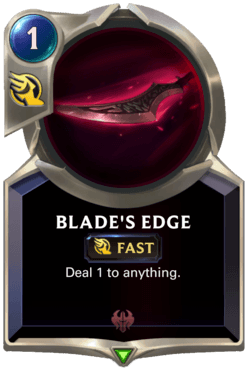 Blade's Edge Legends of Runeterra