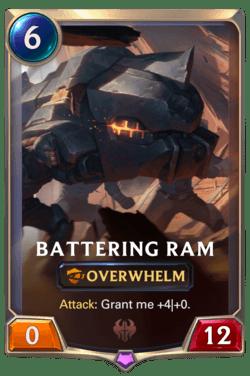 Battering Ram Legends of Runeterra