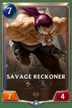 Savage Reckoner Legends of Runeterra
