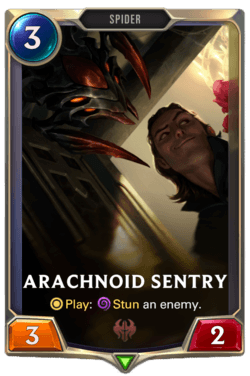 Arachnoid Sentry Legends of Runeterra